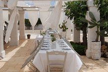 Masseria Tenuta Potenti_outside dining