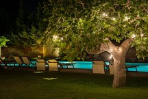 Masseria Montelauro_pool at night