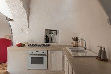 Trullo Iduna kitchen